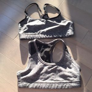 2 pack of sports bras
